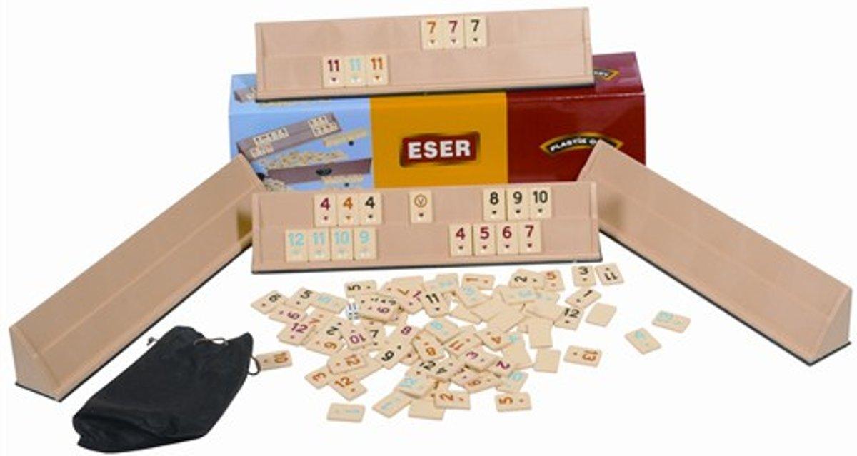 Turks spel Okey (Turks spel) Plastic - Eser