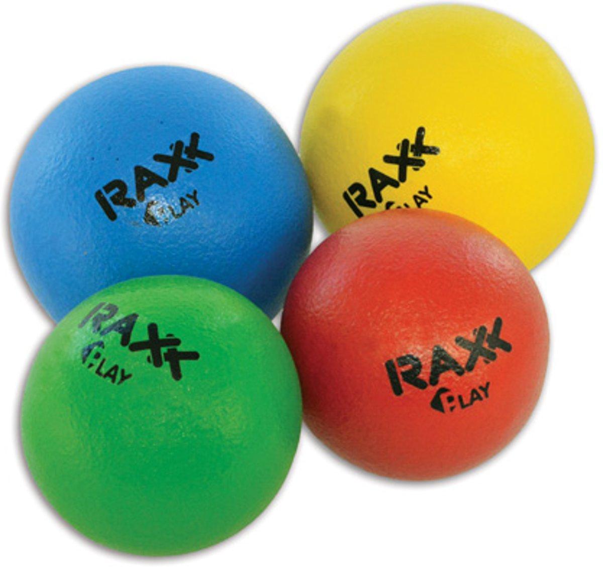 Raxx Trefbal | Foambal Olifantenhuid 21 cm Geel kopen