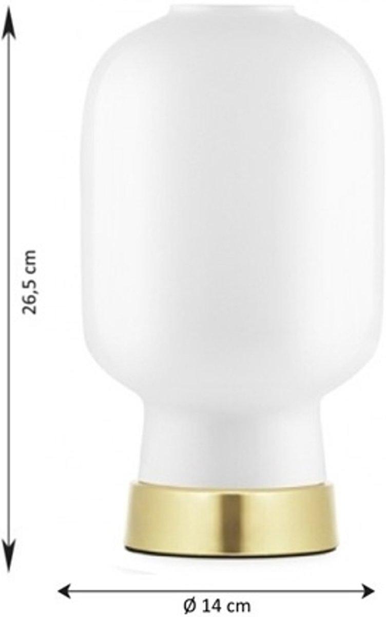 Normann Copenhagen Amp tafellamp witmessing