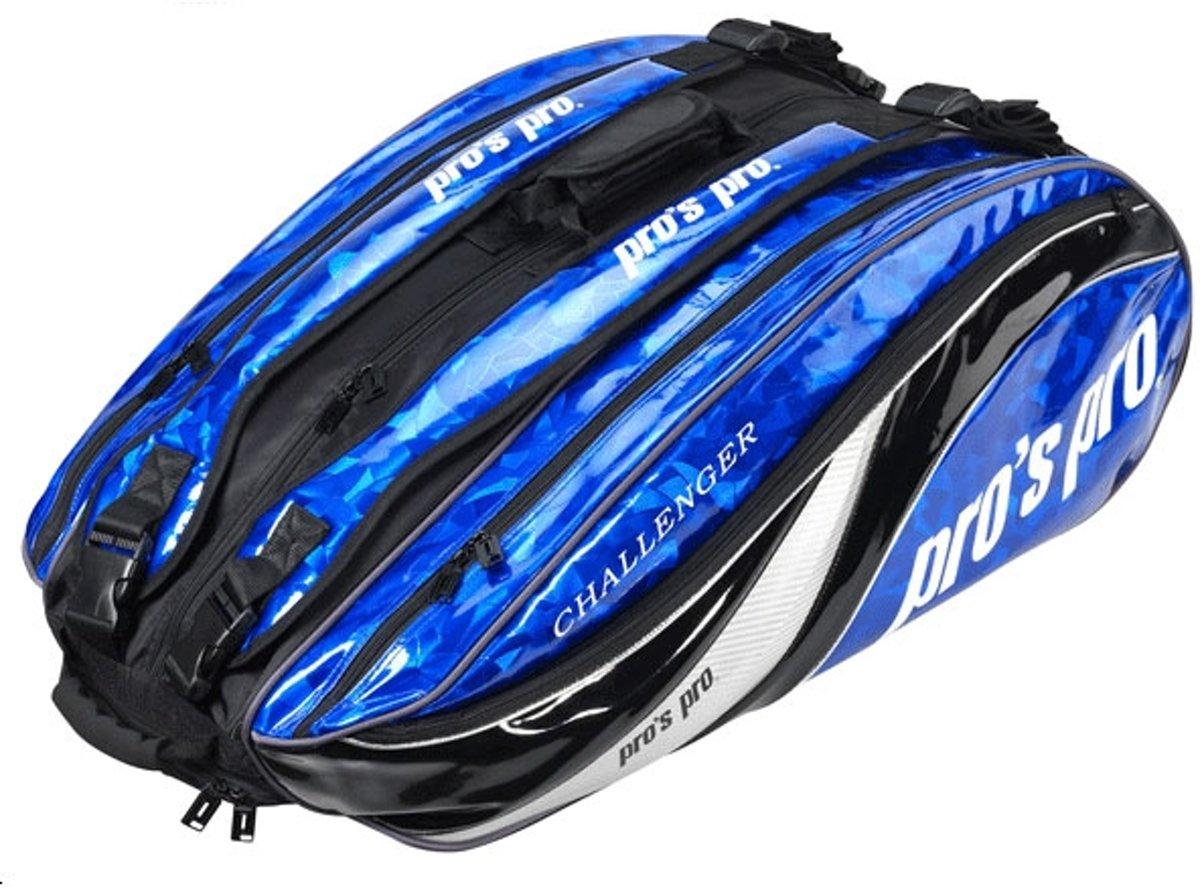 Pro's Pro 12-Racketbag Challenger blauw L106 tennistas kopen