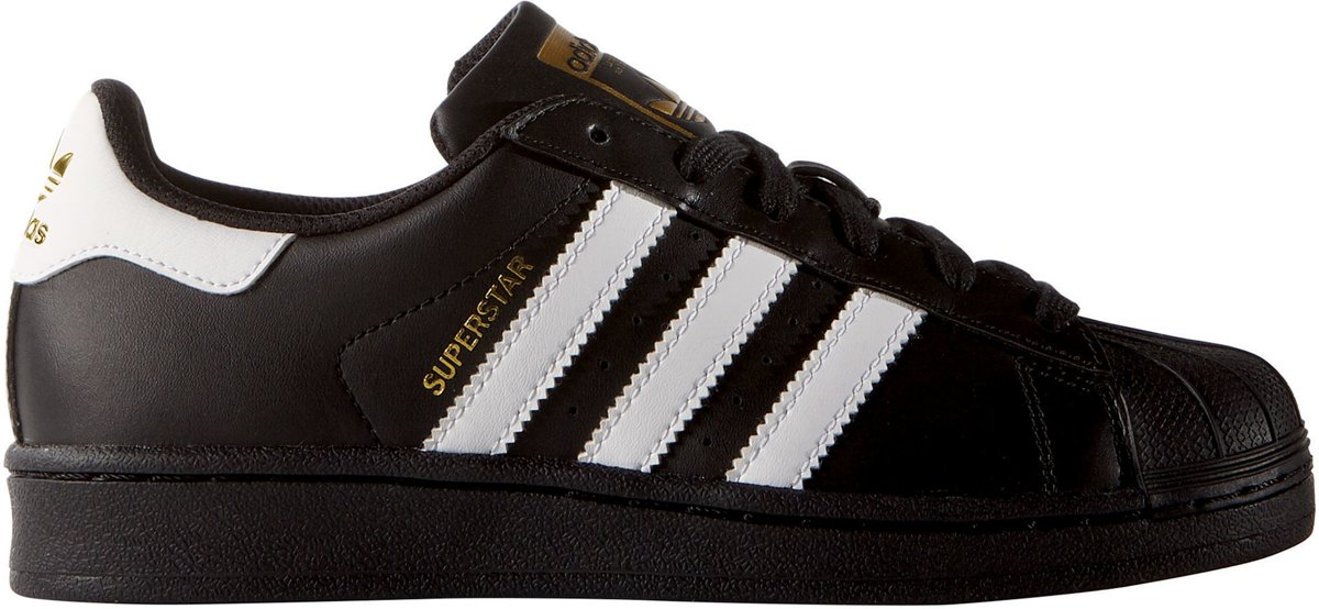 Adidas Superstar Zwart Goud Dames