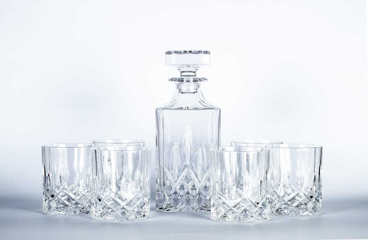 7-delig Whisky set RCR KRISTAL 24% loodgehalte kopen