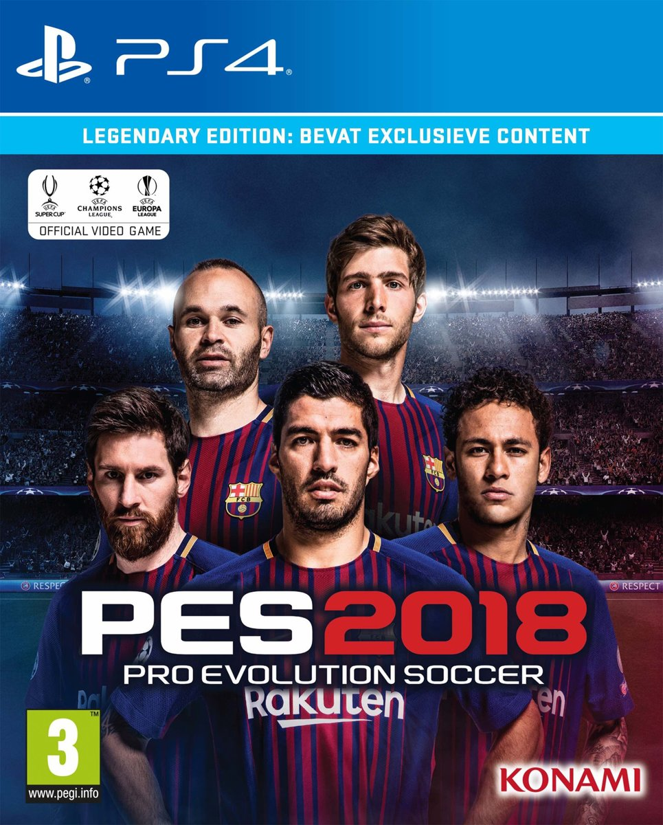 PES 2018 - Legendary Edition PlayStation 4