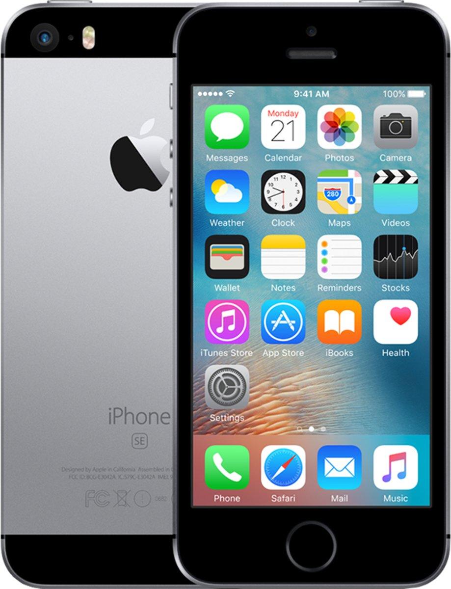 WEEKEND DEAL | Refurbished Apple iPhone SE - 16GB - Grijs kopen