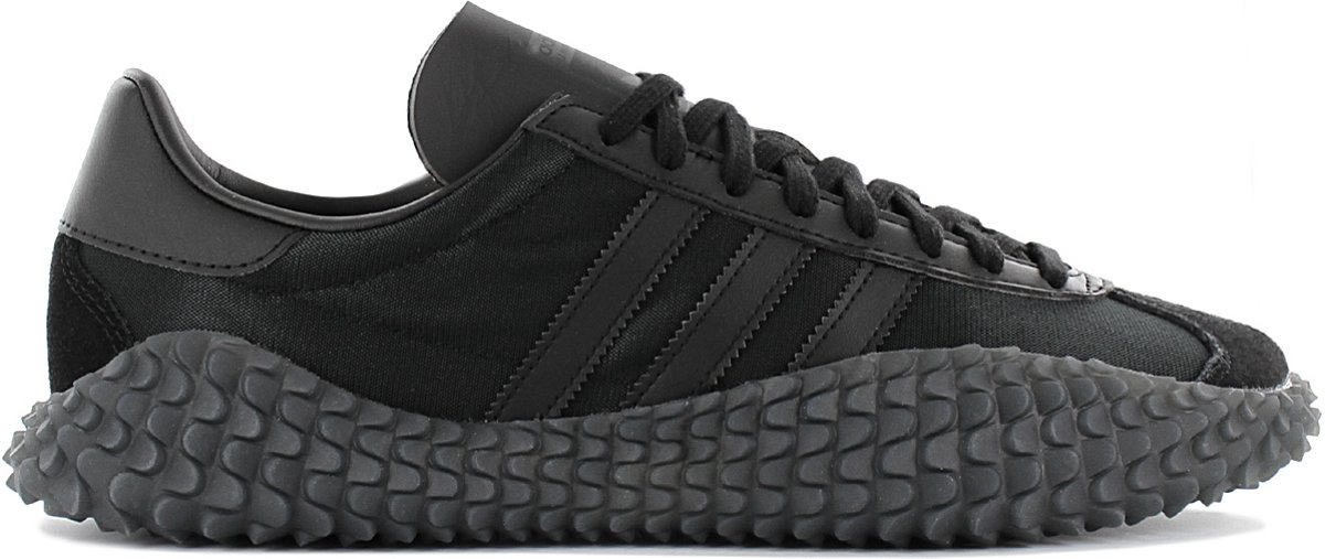 adidas Country x Kamanda Never Made Triple Black LIMITED EDITION EE3642 Heren Sneaker Schoenen Zwart Maat EU 40 23 UK 7