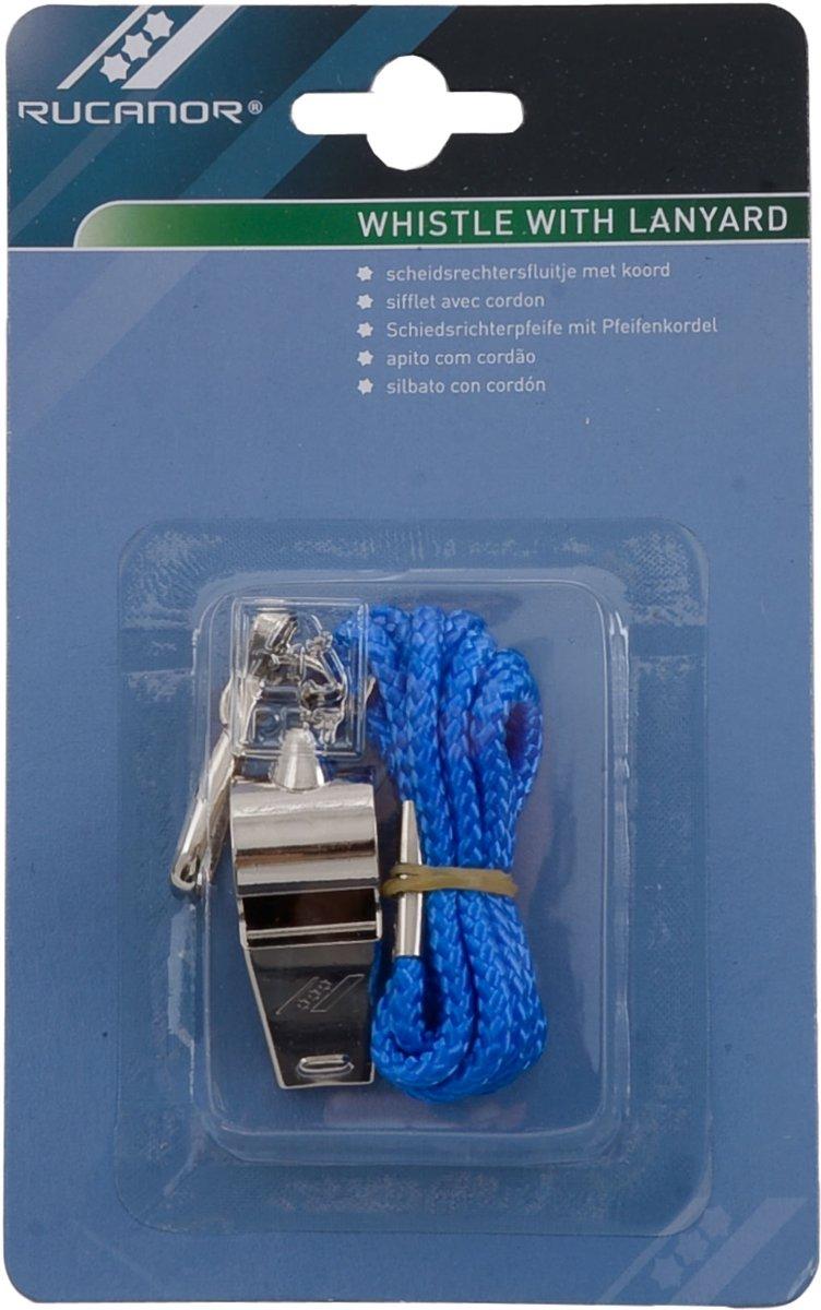 Rucanor Whistle-S-Zwart-Rood-Blauw kopen