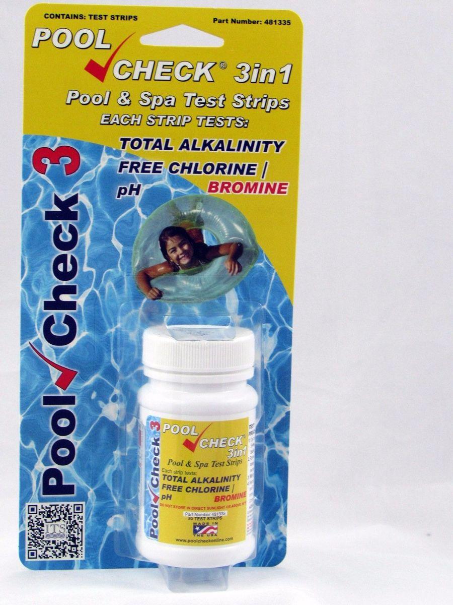 ALPC - Blue Lagoon Poolcheck Koper 3 in 1 - Zwembadverzorging