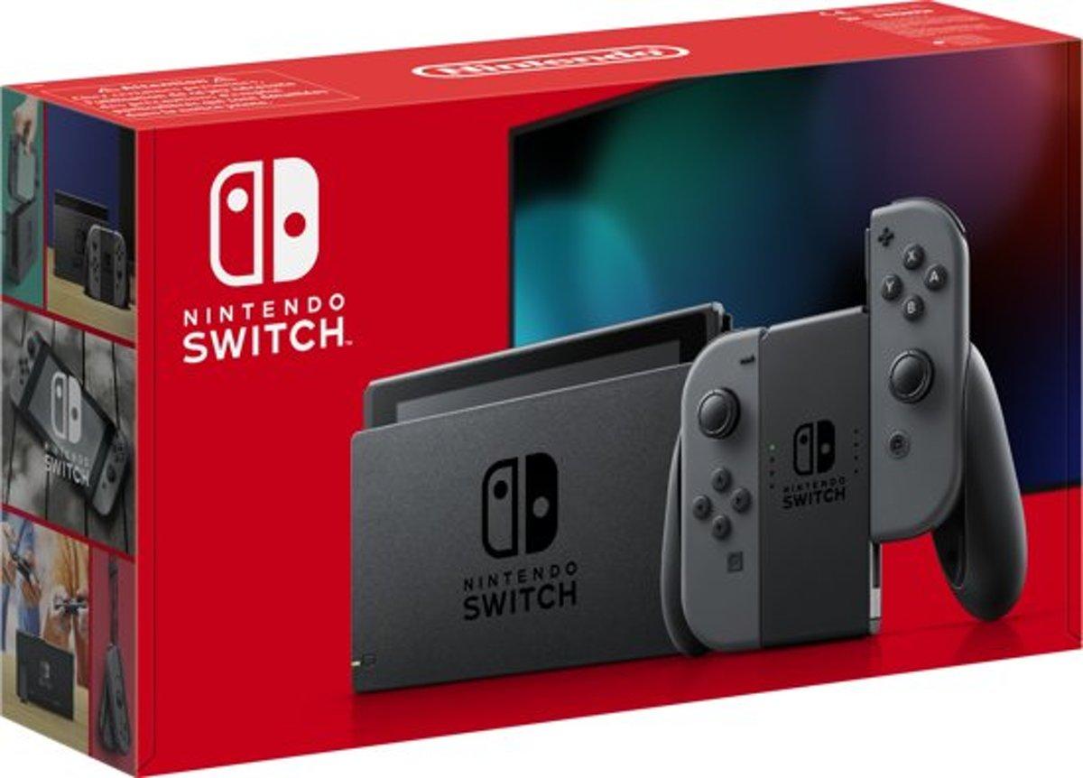 Nintendo Switch Grijs - Verbeterde accuduur - nieuw model - Nintendo