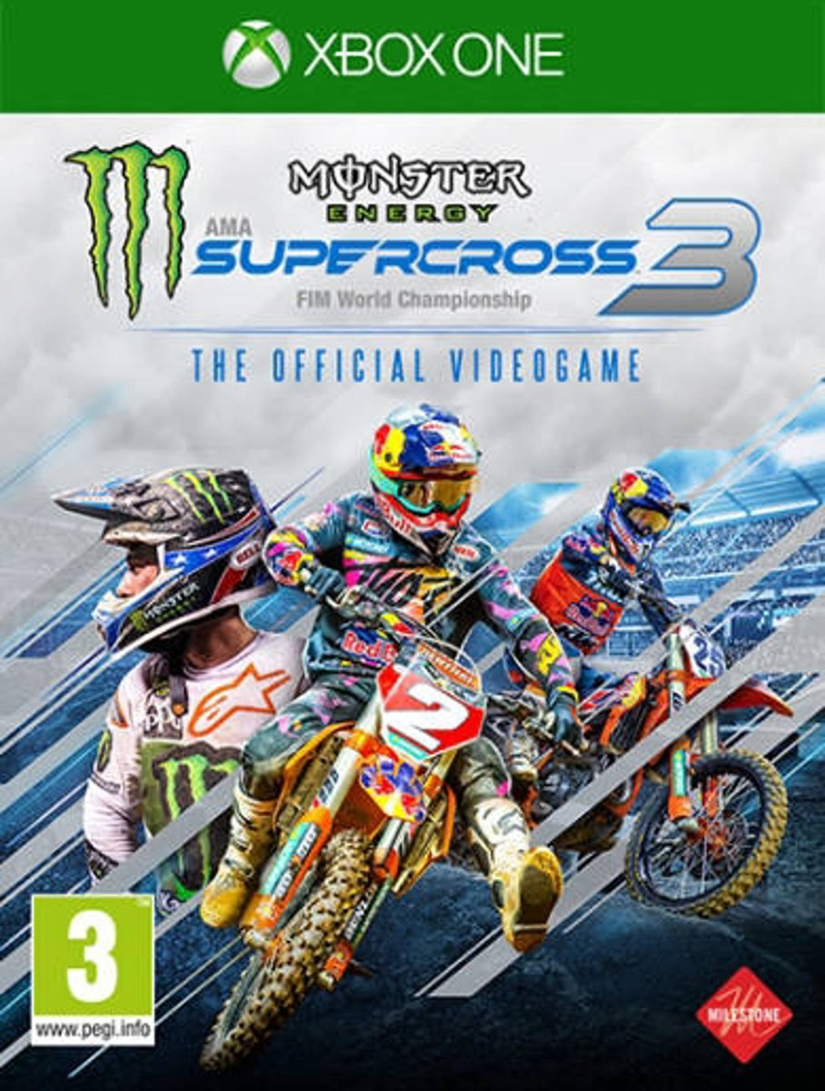 Monster Energy Supercross 3: The Official Videogame (Xbox One) kopen