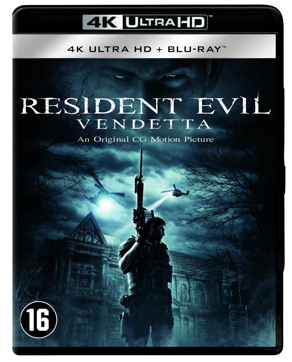 Resident Evil : Vendetta (4K Ultra HD Blu-ray)-