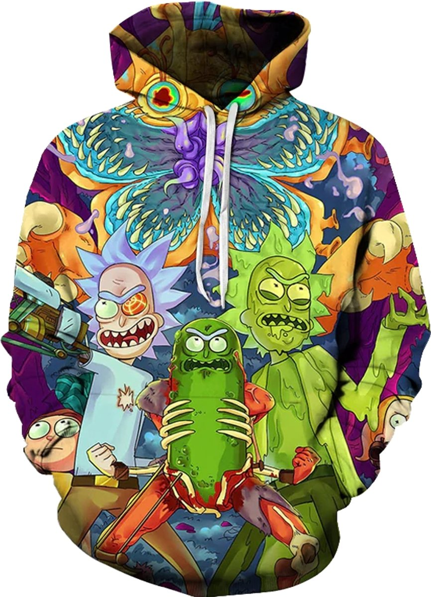 Rick and Morty Hoodie - Pickle Rick
