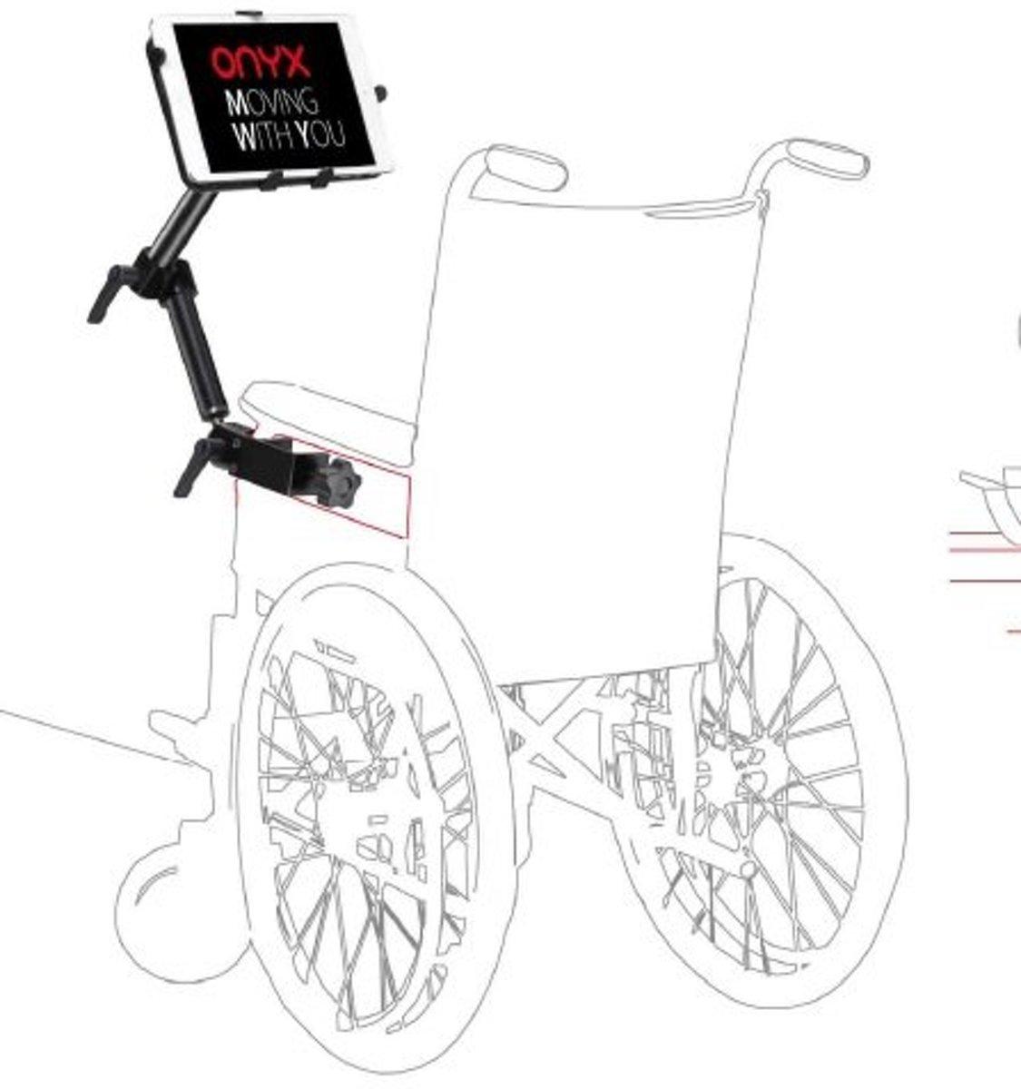 Onyx Rolstoel Universele Tablethouder SL-WP kopen