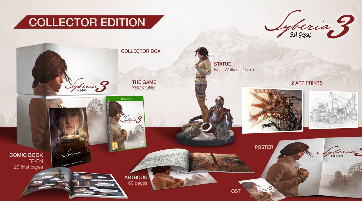 Syberia 3 Collector's Edition Xbox One