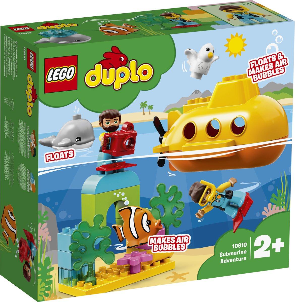 LEGO DUPLO Avontuur met Onderzeeër - 10910