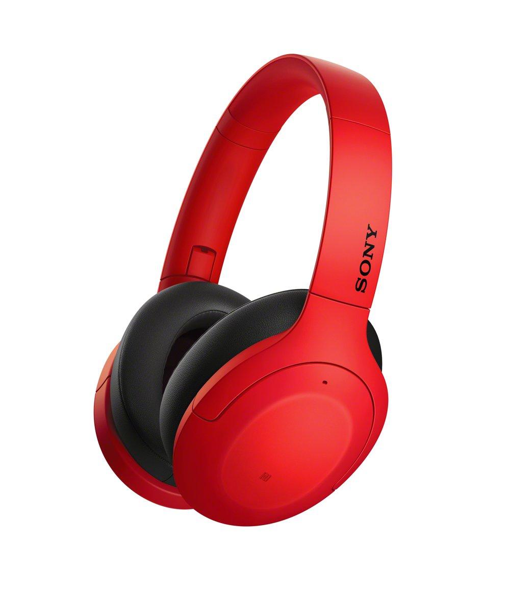 Sony WH-H910N - Noise cancelling koptelefoon - Rood kopen