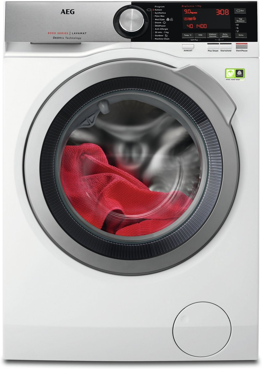 AEG L8FE96CS - Wasmachine