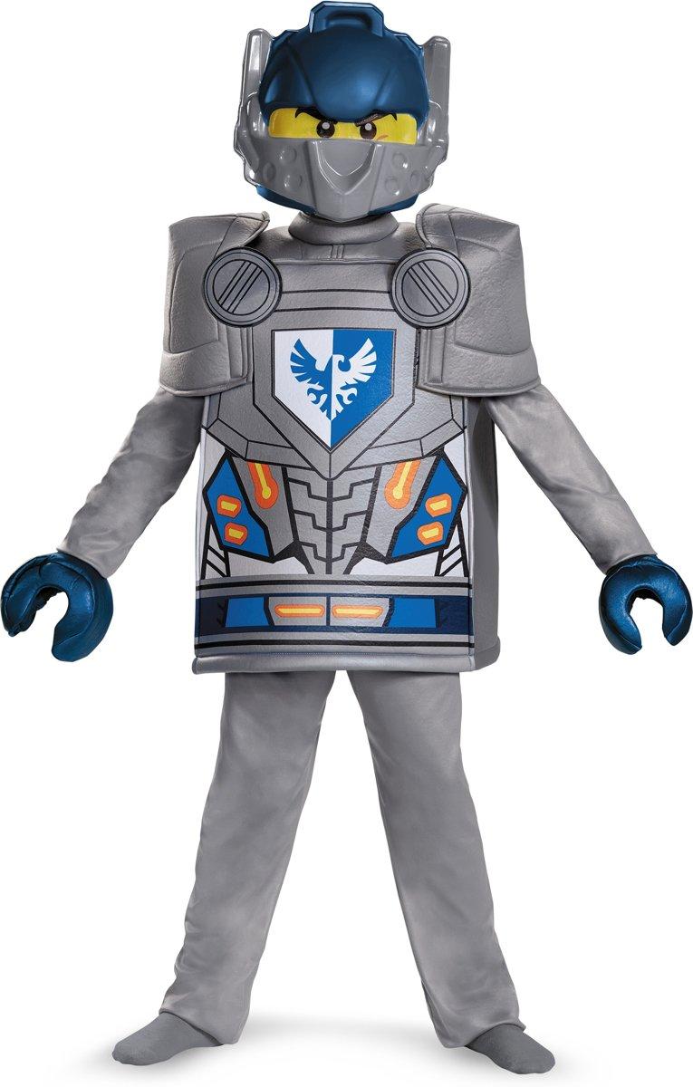 Deluxe Clay Nexo Knights™ - Lego™ kostuum voor kinderen - Verkleedkleding - Maat 122/128