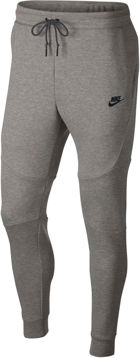 Nike Nsw Tech Fleece Joggingbroek Heren Dk Grey HeatherBlack(Black) Maat L