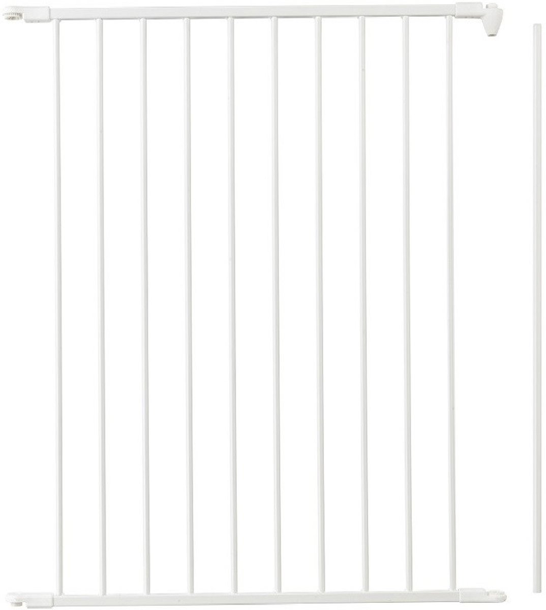 BabyDan Flex Losse Uitbreiding Paneel 72 cm Extra hoog 105 cm Wit kopen