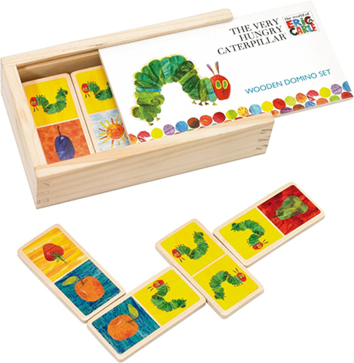 Very Hungry Caterpillar Wooden Dominoes