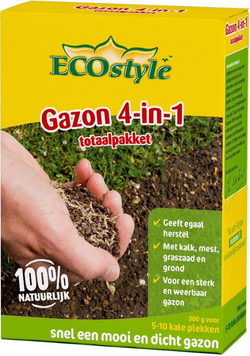 Ecostyle Gazonherstel 300 gram | tegen kale plekken in het gazon kopen