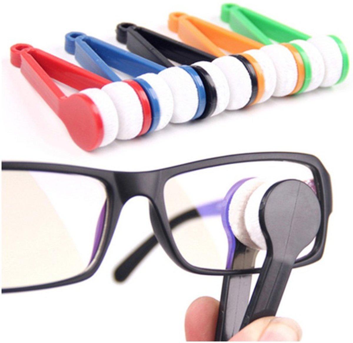 Brillenpoetser - Microvezel Brillendoekje - 3 Stuks - Sleutelhanger - Bril reiniger kopen
