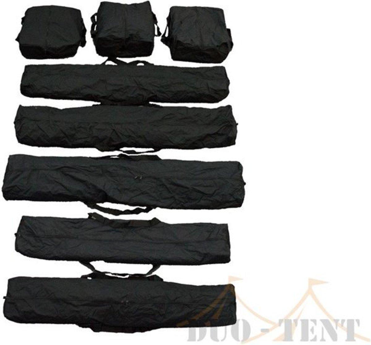 Opbergtassen set voor partytenten 6 meter breed kopen