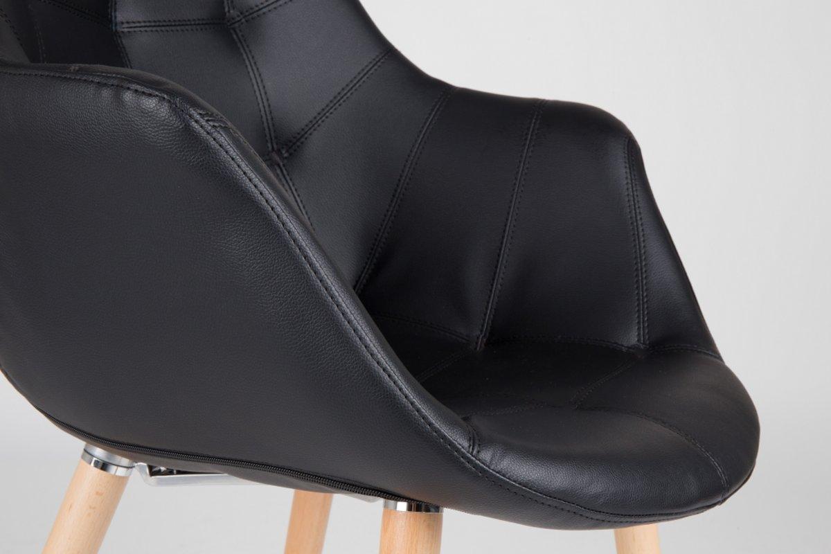 Stoel Zuiver Eleven : Bol.com zuiver twelve stoel zwart