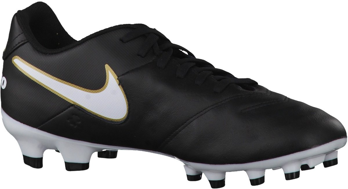 Nike - Tiempox Genio Ii Cuir Ic - Unisexe - Le Football - Noir - 44,5