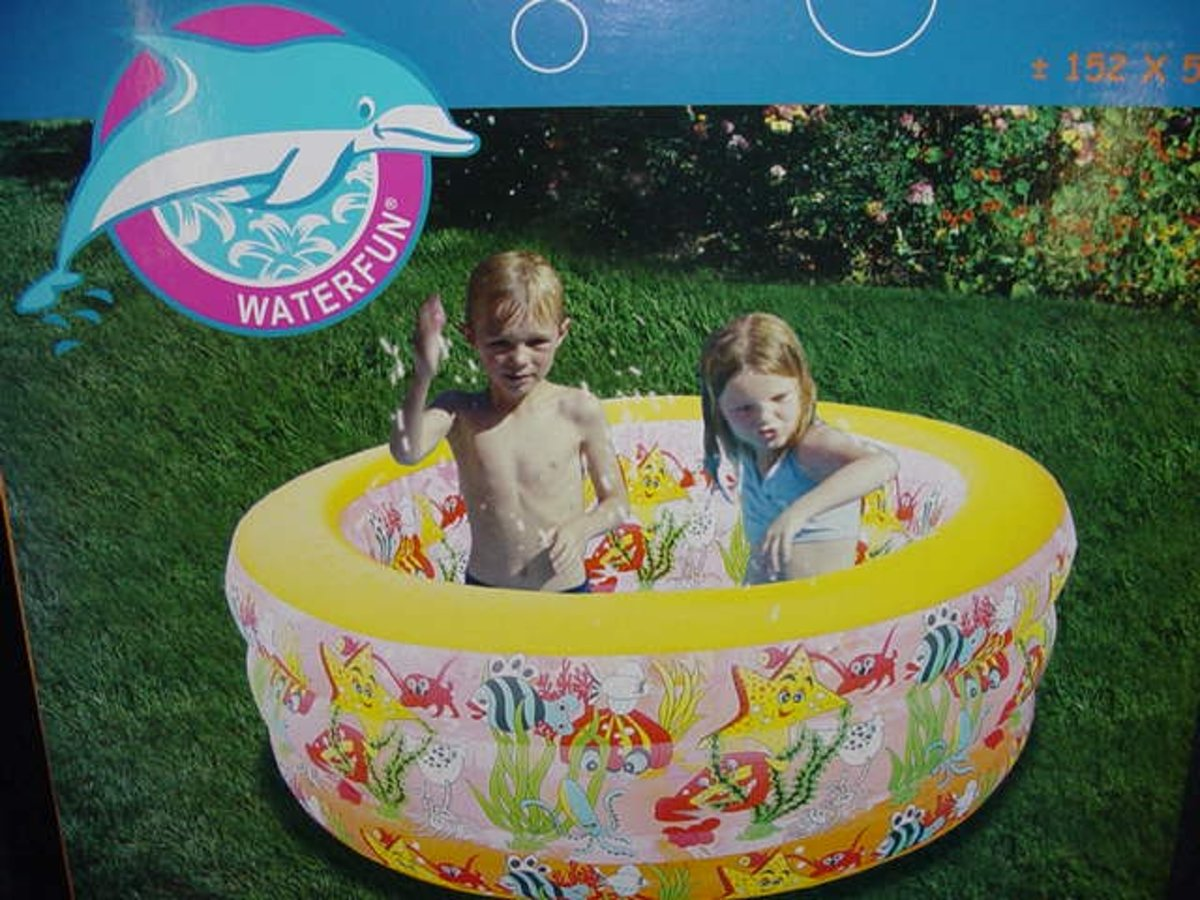 Zwembad rond extra diep 152 x 55 cm