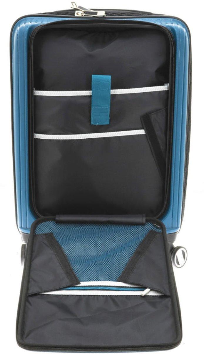 f0877746571 bol.com | Nieuwe set koffers van Davidts, in fraaie blauwe kleur