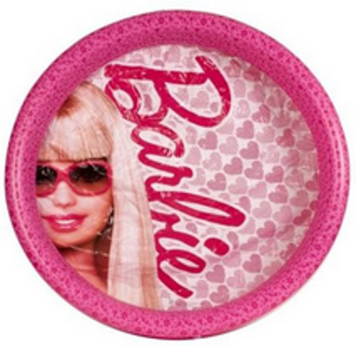Barbie zwembad 122x122x31cm