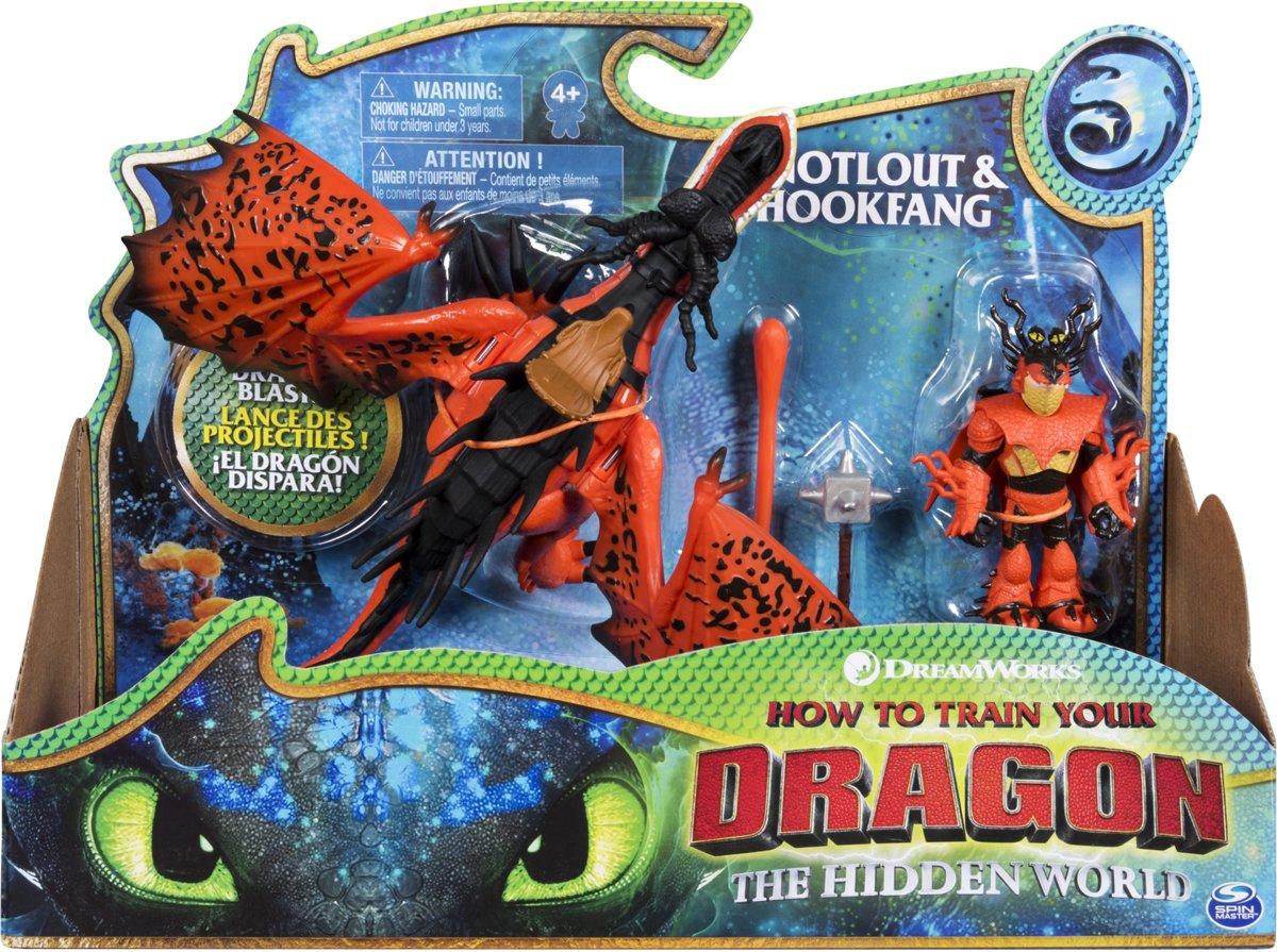 Dragons - Dragon & Viking Snotlout/Hookfang