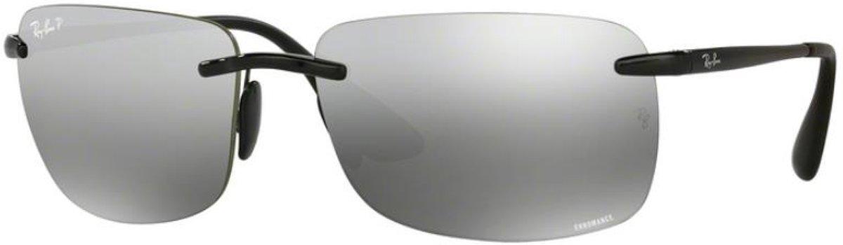 Ray-Ban RB4255 601/5J - Chromance - zonnebril - Zwart / Zilver Spiegel Chromance - Gepolariseerd - 60mm kopen