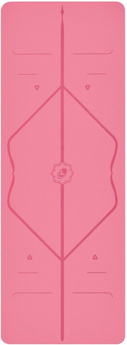 Liforme yoga mat - 185 cm x 68 cm x 0,4 cm - Roze kopen