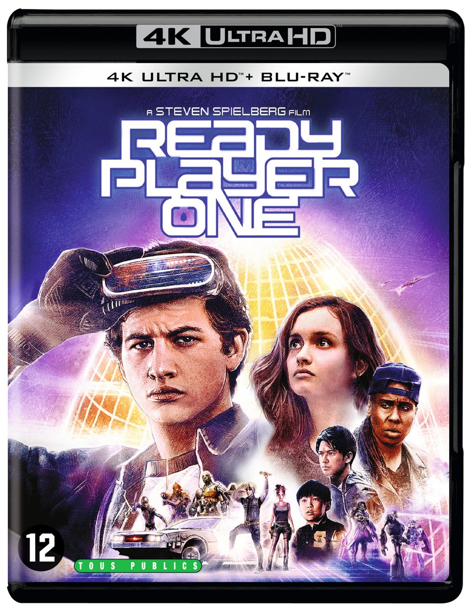 Ready Player One (4K Ultra HD Blu-ray)-
