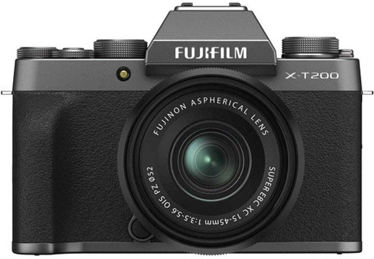 Fujifilm X-T200 + XC 15-45mm - Zwart, Zilver