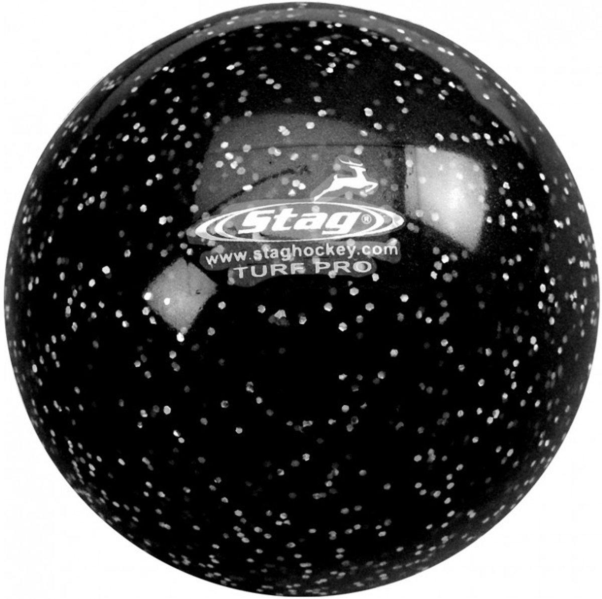 Stag Glitter ball - Veldhockeybal - Zwart kopen