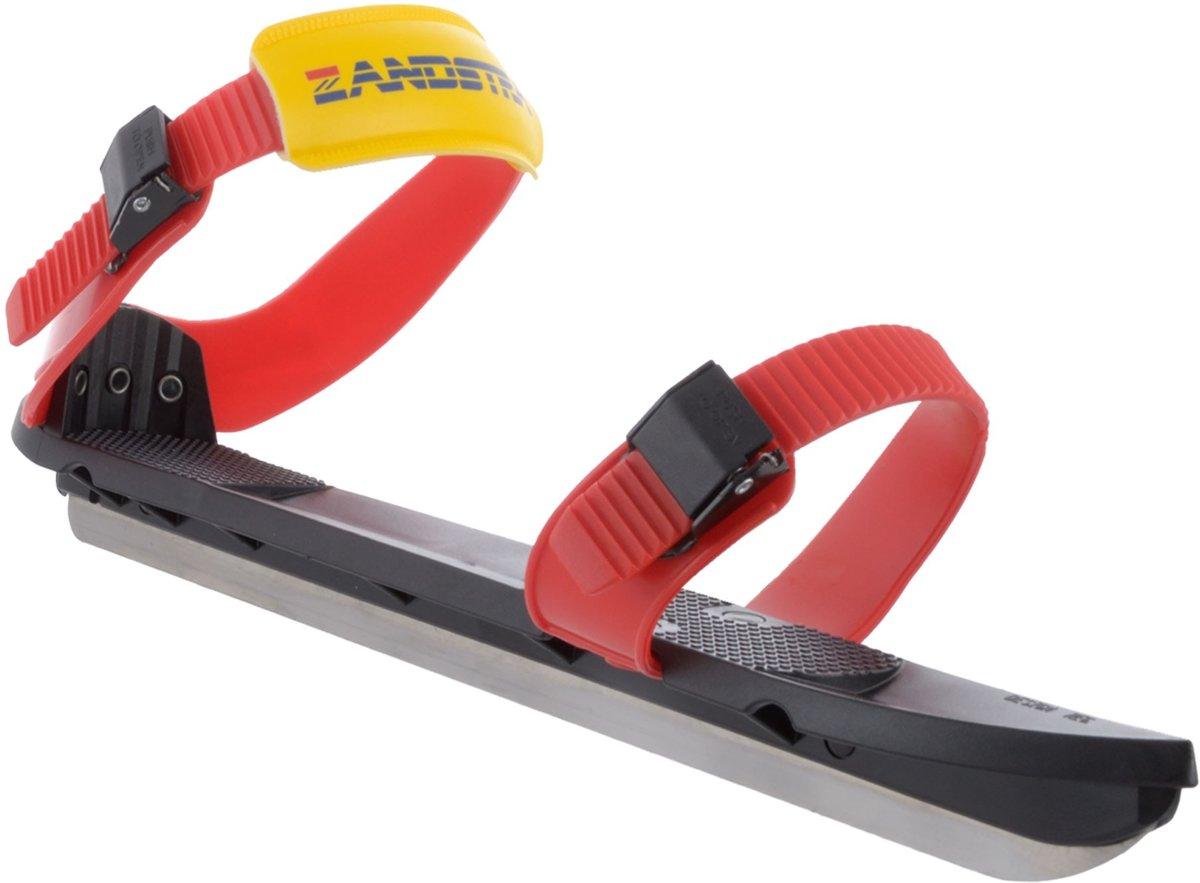 Schaatsen Zandstra - Easy Gliders - Zwart/Rood - Maat 26/30 = S