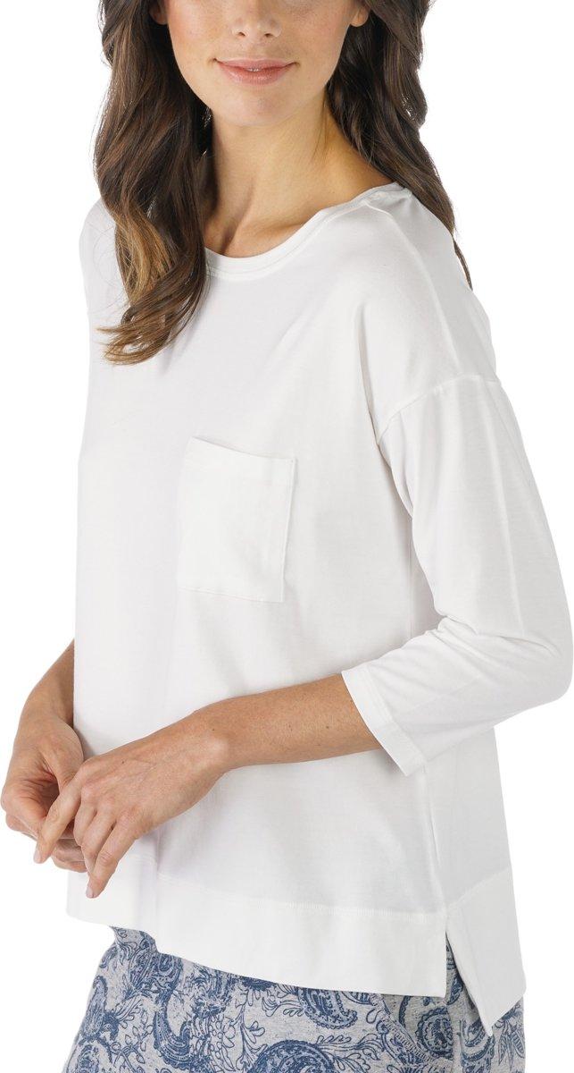 Mey Dames Night2Day Demi Shirt ¾ Mouw 16806 - Blauw - M kopen