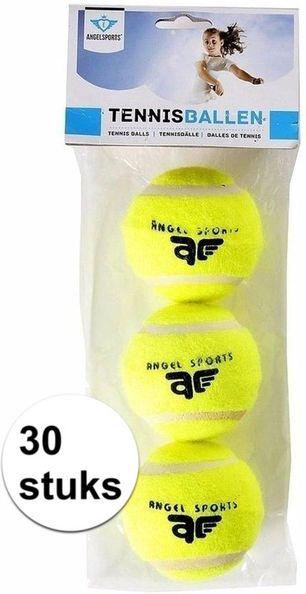 Tennisballen setje 30x kopen