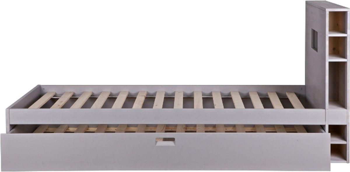 bol vtwonen store bed grijs met matraslade excl