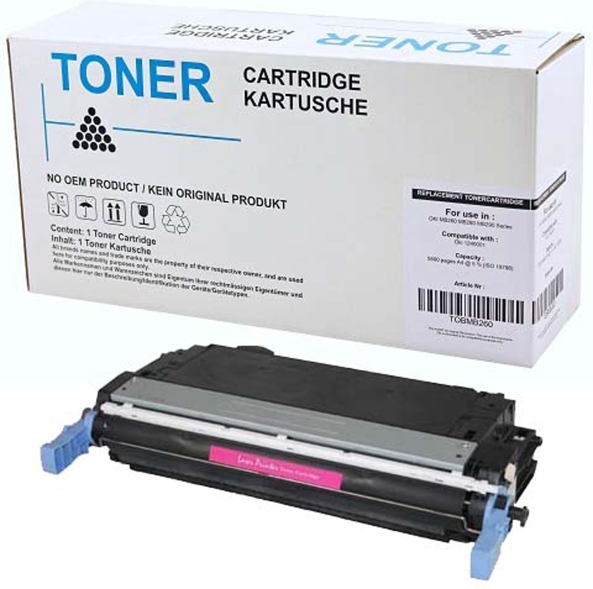 Toner Voor Hp 642a Cb403a Laserjet Cp 4005 Magenta Color Cp4005 Cyan Cartridge Cb401a