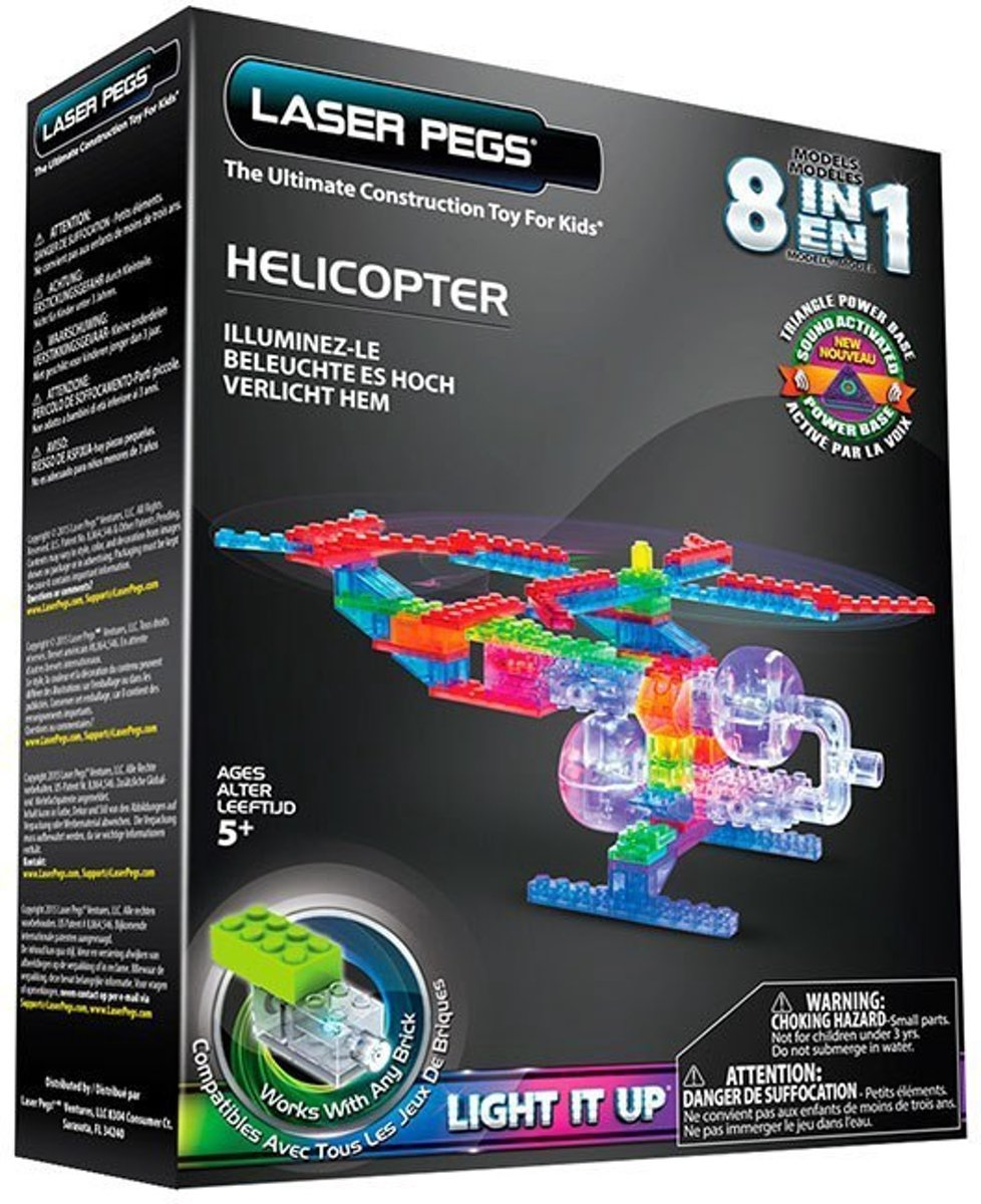 LaserPegs 8 in 1 Helicopter