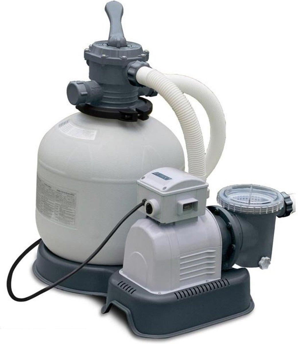 Intex zandfilterpomp 10 m3/uur (met reparatiesetje)