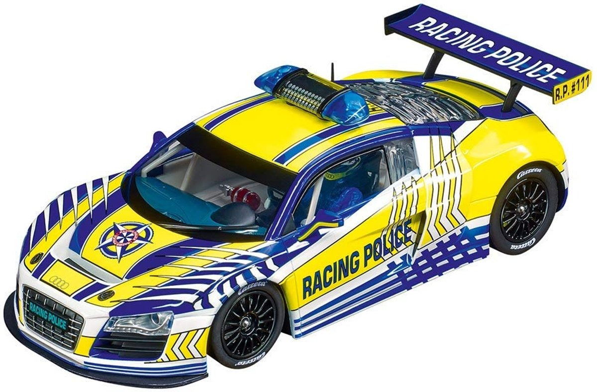 "Carrera DIG124 Audi R8 LMS ""Carrera Racing Police"" - Racebaanauto"
