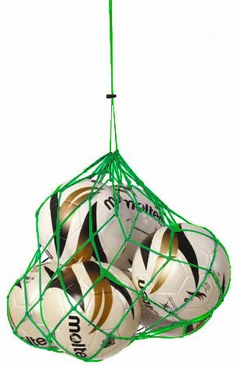 Sportec Nylon Draagnet 2/4 Ballen Groen kopen