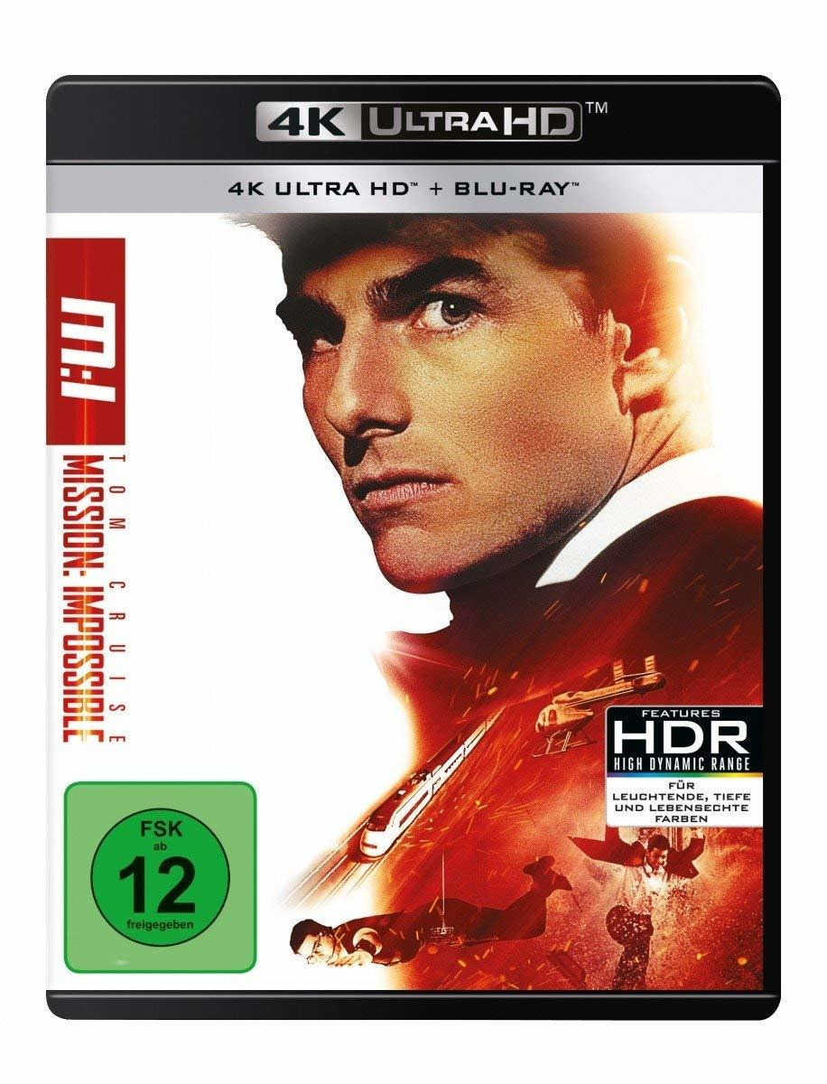 Mission: Impossible 1 (Ultra HD Blu-ray & Blu-ray)-