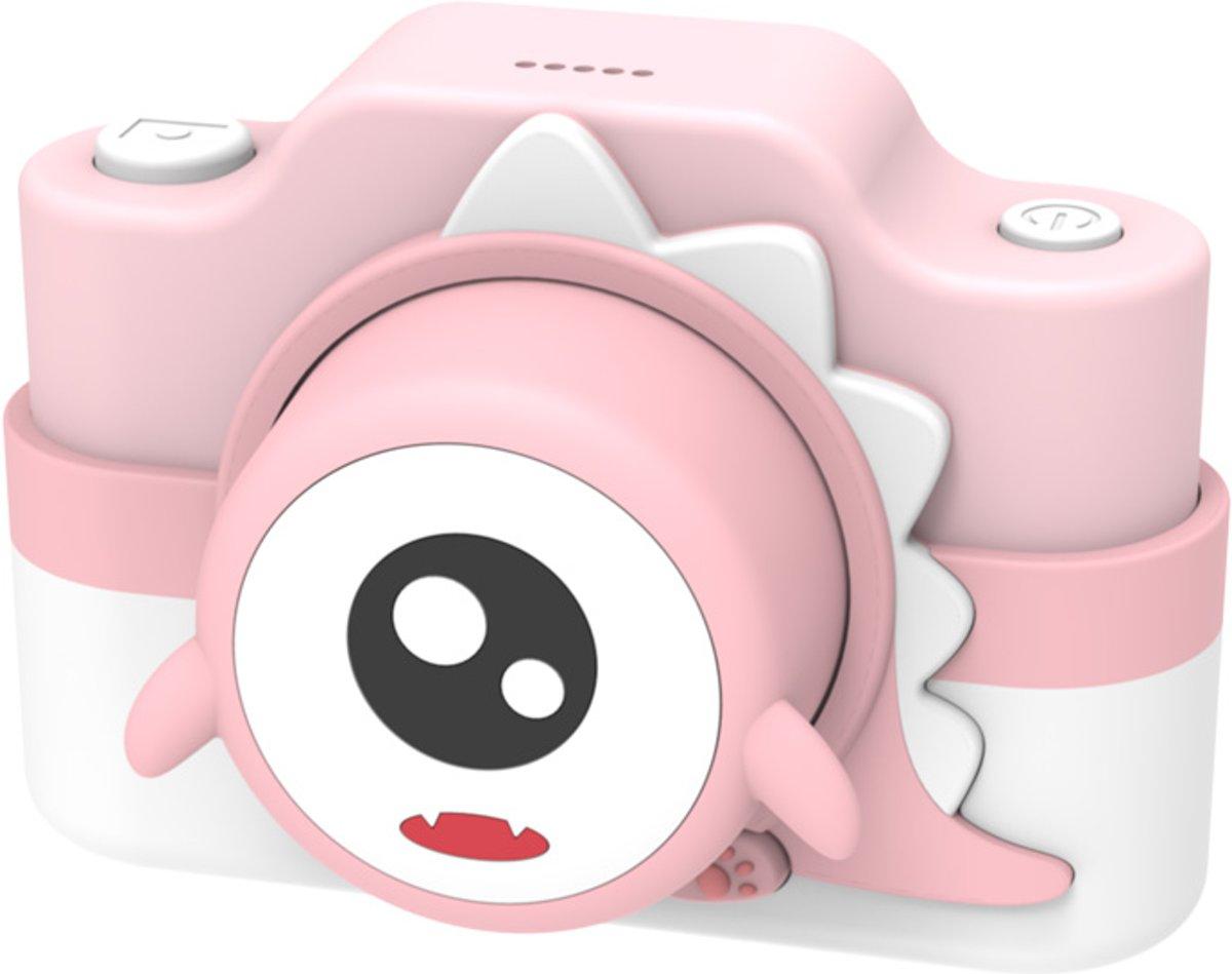 Roze Dino 24 MP digitale camera + Selfie Video
