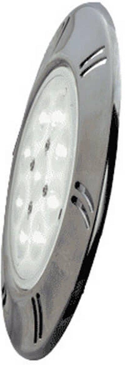RVS front ring voor afdekking PLA100 lamp